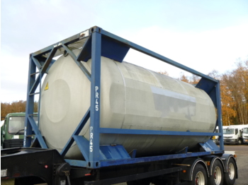 Asenduskorpus - tsistern UBH Food (beer) tank container 20 ft / 23.6 m3 / 1 comp