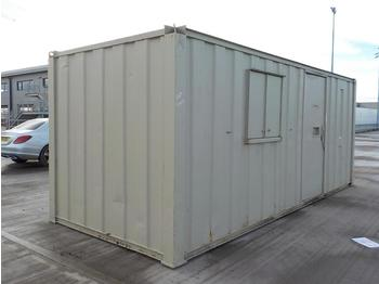 20' Containerised Welfare Unit, Canteen, Toilet, Genset Generator - ehitusmahuti