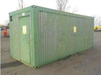 20ft Office Container - ehitusmahuti