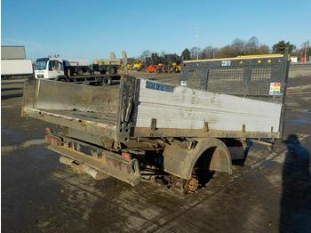 Ford Transit Dropside Tipper Body, Rear Axle - kalluri korpus