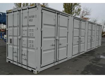 Unused 40FT Container c/w 4 Side Doors, 1 Rear - mahuti