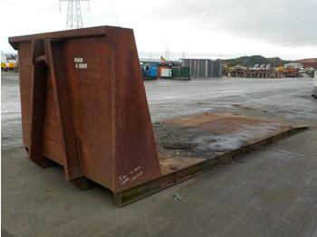 "20"" Flat Bed Body to suit Hook Loader - multilift konteiner"