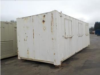 27` x 8` RORO Containerised Sleeper, 3 Compartments, to suit Hook Loader - multilift konteiner