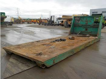 RORO Flat Bed to suit Hook Loader Lorry - multilift konteiner