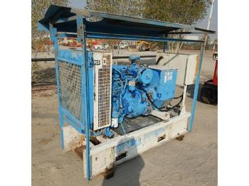 LOT # 0671 -- Perkins 60KvA Skid Mounted Generator - generaatorikomplekt