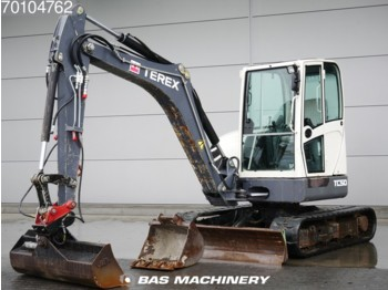 Terex TC50 German machine - 2 buckets - miniekskavaator