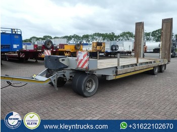 GHEYSEN VERPOORT 3 AXLES FULL STEEL 24t load ramps - madal platvorm järelhaagis
