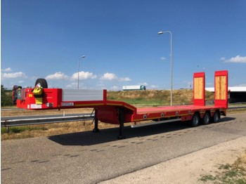 OZGUL LW3 Axles Lowbed Semi Trailer 2.5m 52T Dutch registration OR-27-NL - madal platvorm järelhaagis