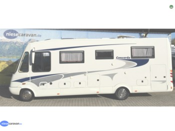 Concorde Charisma 830 F SAT-SOLAR-BACKOFEN-KUPPLUNG (Iveco Daily)  - matkabuss