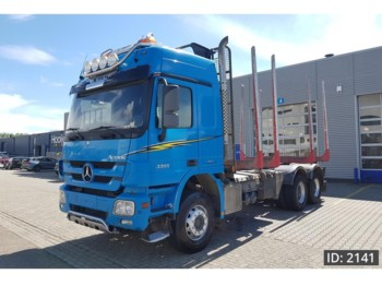 Mercedes-Benz Actros 3355 F04, Euro 5, full steel suspension - palgiveok