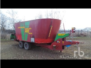 Strautmann VERTI-MIX 1400 Feed Mixer Trailer T/A - loomakasvatusseadmed