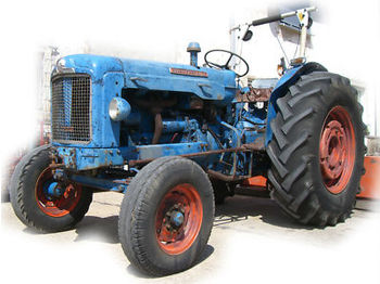 Ford Fordson Super Major + Hydraulik + Brief - ratastraktor