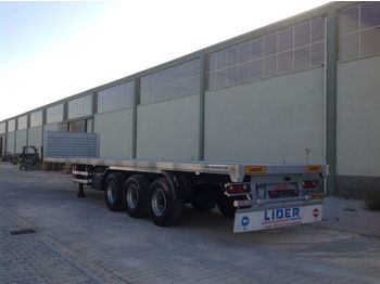 Platvorm/ madelpoolhaagis LIDER 2020 YEAR NEW MODELS containeer flatbes semi TRAILER FOR SALE