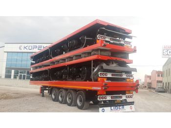 Platvorm/ madelpoolhaagis LIDER 2020 YEAR NEW TRAILER FOR SALE (MANUFACTURER COMPANY)