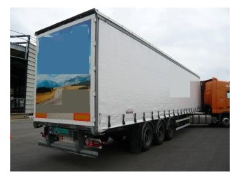 Trailor 3 axle curtainside trailer - külgkardinaga poolhaagis