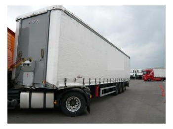 Trailor Curtain side trailer - külgkardinaga poolhaagis