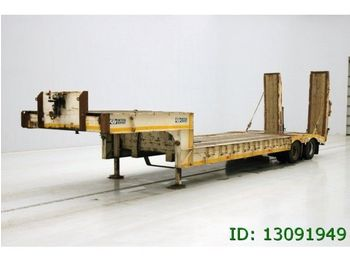 GHEYSEN & VERPOORT LOW BED 2 AXLES GHEYSEN & VERPOORT LOW BED 2 AXLES - madal platvormpoolhaagis