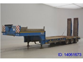 GHEYSEN & VERPOORT LOW BED 3 AXLES  - madal platvormpoolhaagis