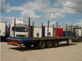 Panav timber carrier, disc brakes - poolhaagis veoauto