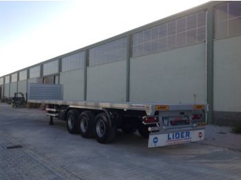 LIDER 2017 YEAR NEW MODELS containeer flatbes semi TRAILER FOR SALE (M - platvormpoolhaagis
