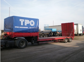 SAMRO MACHINE CARRIER TRAILER - poolhaagis veoauto