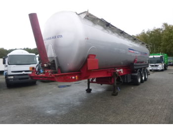 Metalair Filliat Powder tank alu 58 m3 (tipping) - tsistern poolhaagis