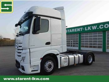 Sadulveok Mercedes-Benz Actros 1845 BIG SPACE, Xenon, Achswaage