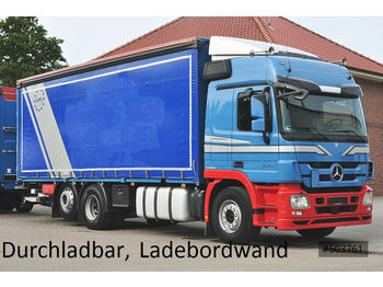 Mercedes-Benz 2544 Actros Plane, Ladebordwand, LBW  - furgoon