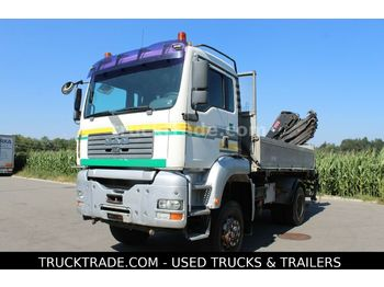 MAN TG-A 18.483 FAK 4x4  - madalveok