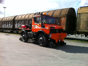 Mercedes-Benz U1400,Unimog, Zweiwege.Road and Rail,Railway  - veoauto